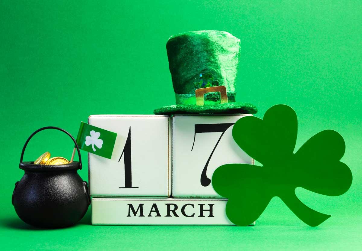St. Patrick's Celebration Sunday – March 17th