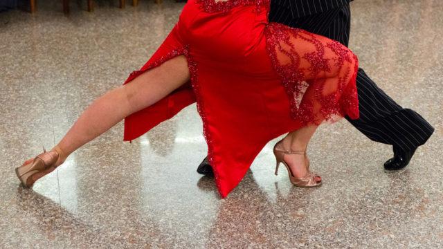 ballroom dance at boutier