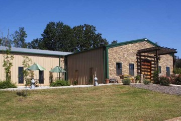 event location at boutier winery wedding danielsville