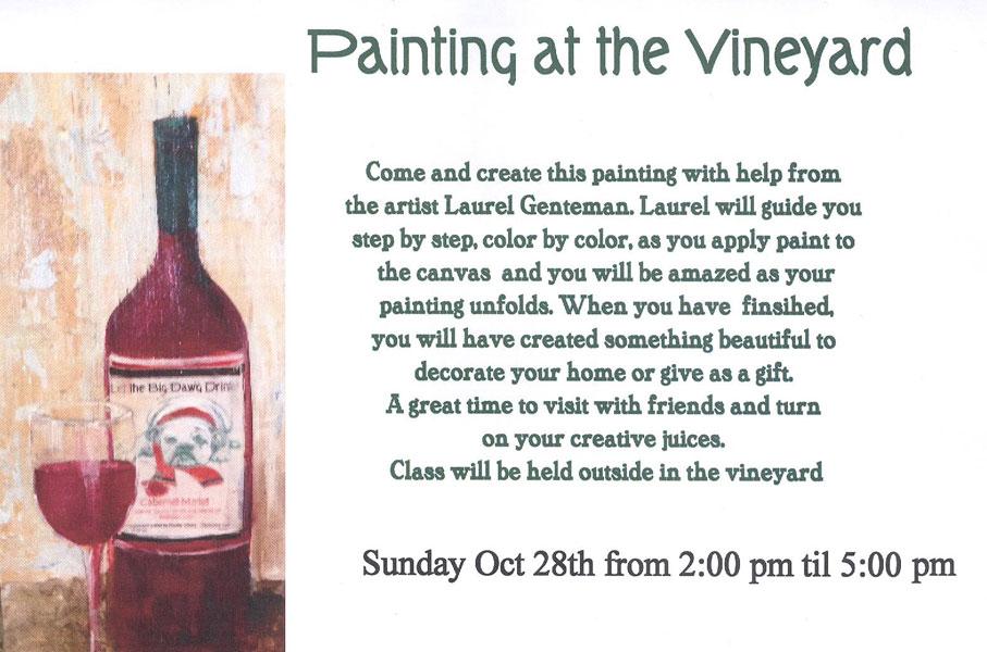 Painting at the Vineyard